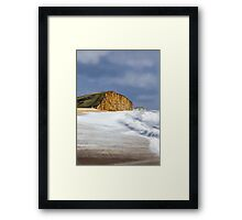 West Bay, Dorset (Broadchurch) Framed Print