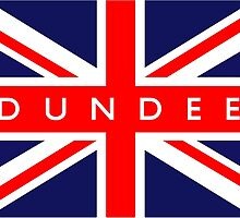 Dundee UK Flag by ukedward