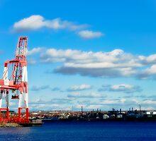 Industry, Halifax Docks by Paul Clarke