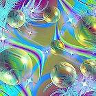 Sparkling Ice Bubbles by Marie Terry