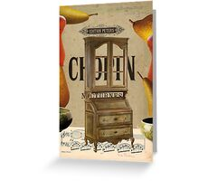 chopin nocturnes Greeting Card