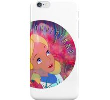Alice In Wonderland Magic Mushrooms iPhone Case/Skin