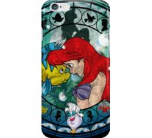 Ariel Stained Glass iPhone Case/Skin