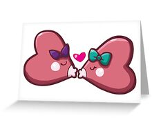 Sweet Luvdisc Smooches Greeting Card