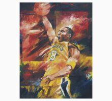 Kobe Bryant Art T Shirt by Christiaan Bekker