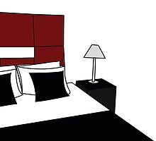 de stijl bedroom by Nikki dV