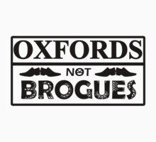 OXFORDS NOT BROGUES by van-helsa124