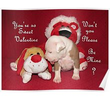 Be Mine Sweet Valentine Poster