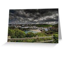 Port Isaac, Cornwall Greeting Card