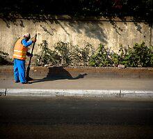 Egypt - Street Sweeper by Lucas Packett
