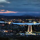 Evening in Canberra by Wendy  Meder