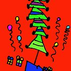 Christmas Tree (Issy age 5) by jeciaissy