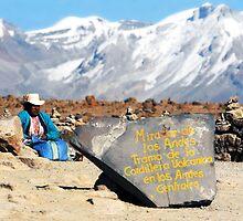 Women, Mirador de Los Andes (4910 m sldm) by Monica Di Carlo