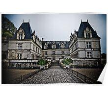 Villandry Castle Entrance - Loire Valley - France Poster