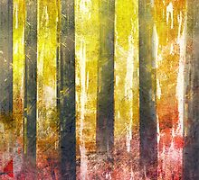 Abstract Print 18 / trees by filippobassano