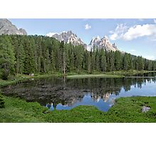Lake Antorno (Lago d'Antorno / Antornosee) Photographic Print