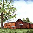 North Carolina Rural Barn by LinFrye