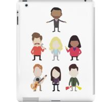 The Parks and Rec Crew - Big iPad Case/Skin