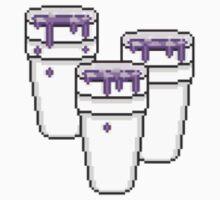 8 Bit Lean 3 Cups by stewwwwwwwwww