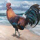 Pensive Gait (Rooster 4) by Joe Helms