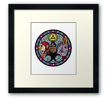 The Sages of Earth Framed Print