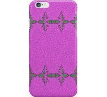 Pink & grey patterndesign by Annabellerockz iPhone Case/Skin