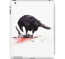Crow, Bloody Snow 2 iPad Case/Skin