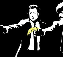 Pulp Fiction Banana by xglowbit