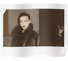 Zhenya Katava Model Polaroid Marc Jacobs Poster
