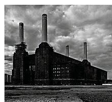 Battersea Power Station London by Claire Doherty