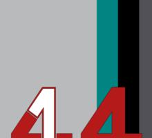 Hamilton 44 - Championship edition Sticker