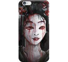 Geisha in Blood: The unwiling Concubine iPhone Case/Skin