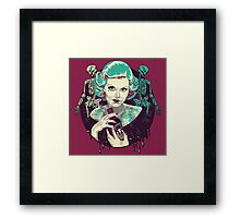 Poisoned Plum Framed Print