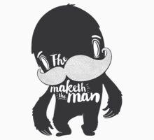The Moustache Maketh The Man  Kids Clothes