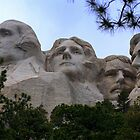 Mount Rushmore by Allen Gaydos