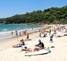 A day at Noosa beach, Queensland, Australia. by Ian Berry