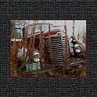 Another Big Truck Pillow by Carolyn Clark