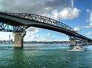 Auckland Harbour Bridge...........! by Roy  Massicks