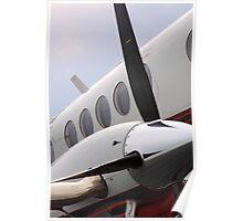 Beechcraft Kingair 200 Right Engine Poster