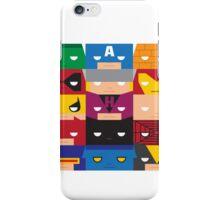 SuperBlocks - Marvel iPhone Case/Skin