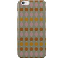 circles and lines pattern iPhone Case/Skin