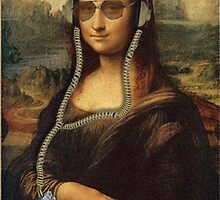 The Real Mona Poster by Malkman