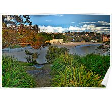 Paintbush - Balmoral Beach - The HDR Experience Poster