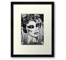 Alice Black & White Framed Print