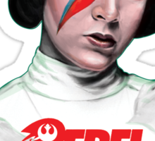 Rebel Rebel Leia Sticker
