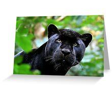 Black Jag Greeting Card