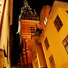 Stockholm at Night  4  (Sweden) by Antanas