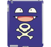 Koffing face iPad Case/Skin