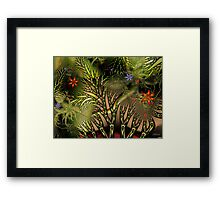 Tangled Woods Framed Print