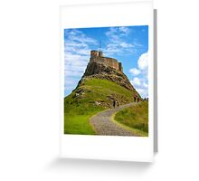 Lindisfarne Castle 2 Greeting Card